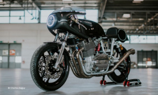 Laverda Project 12 Custom-build one-off Motorcycle by Jean-Louis Olive.
