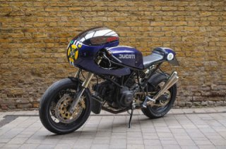 Cafe Racer Cup: Rob Jarvis Ducati 750SS