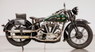 Very rare 1936 BSA 750cc Model Y13