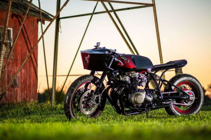 1979 Honda CB750 Xerxes by Legion Cycle Works
