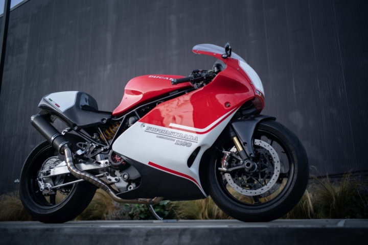 Championship Cycles: custom Ducati 1100 SuperStrada based on Ducati 900SS
