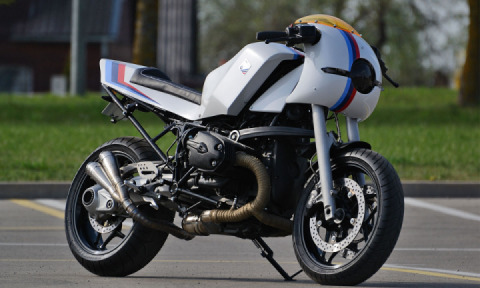 BMW R1200RT Cafe Racer by Si Mantas