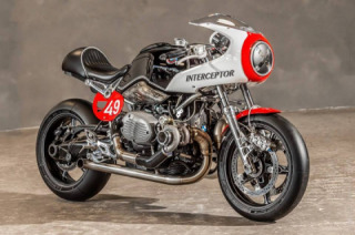 BMW R nineT Bi-Turbo « Interceptor »premiere
