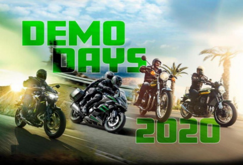 Kawasaki announce Dealer Demo Days 2020