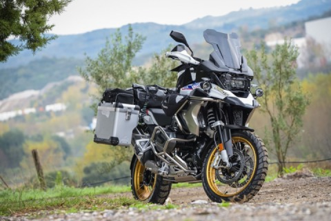 New set of accessories for the BMW R1250GS, released by Touratech