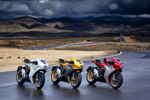 MV Agusta updates the Superveloce and adds new S model