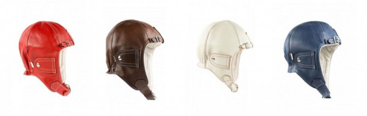 Chapal Leather Driver Helmet