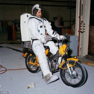 NASA ALMOST SENT A MOTORCYCLE TO THE MOON