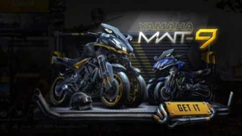 PUBG Mobile brings exclusive Yamaha motorcycles as both collaborate for a limited time