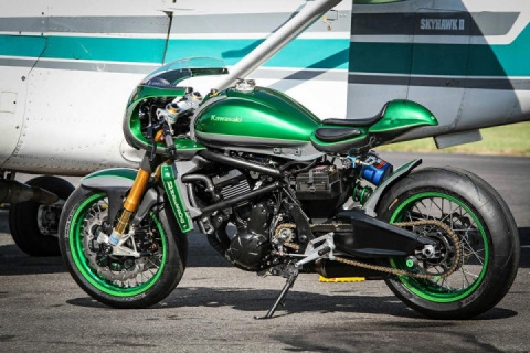 "Kawasaki Vulcan S ""The Underdog"" by Warm Up and Holy"