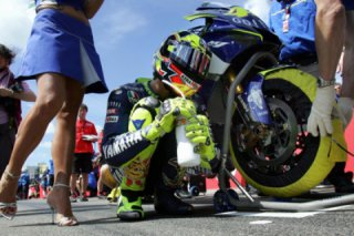 Valentino Rossi told about his pre-race ritual
