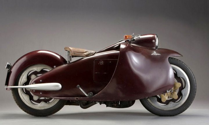 Moto Arte Design: 1948 Major 350