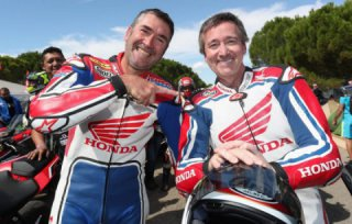 The Honda Fireblade Festival was held within the famous Bol D'or race in France