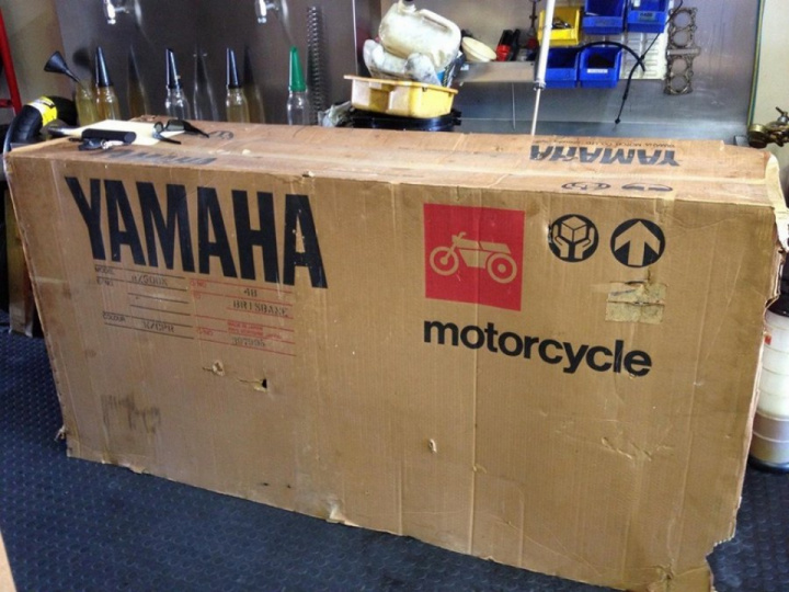 Unusual find: Yamaha 1985 motorcycle with zero mileage