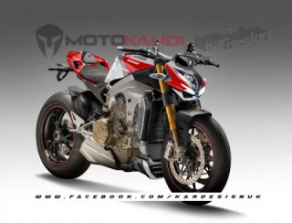 Ducati V4 streetfighter concept by Kardesignkoncepts