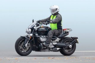 2020 Triumph Rocket III first spy photos
