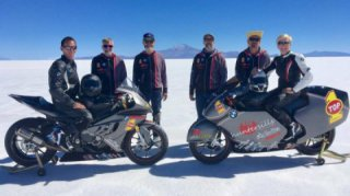 BMW S 1000 RR broke the record for fastest BMW Motorcycle at 242 MPH