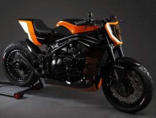 Associated British Motorcycles:Gemini Indianapolis and Gemini Naked customs based on Triumph Speed Triple