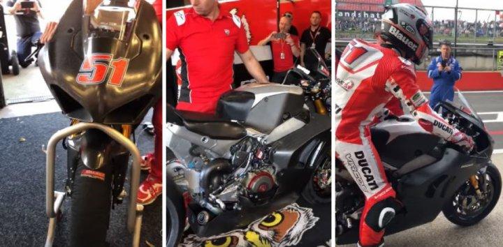 2019 Ducati Panigale V4 R Spied