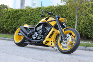 "Custom Harley V-Rod ""MGM"" by No Limit Custom"
