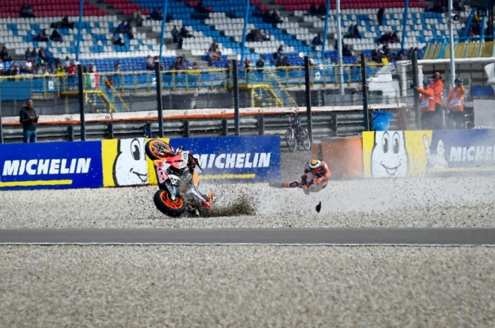 Assen MotoGP: Jorge Lorenzo fractured his T6 and T8 vertebra