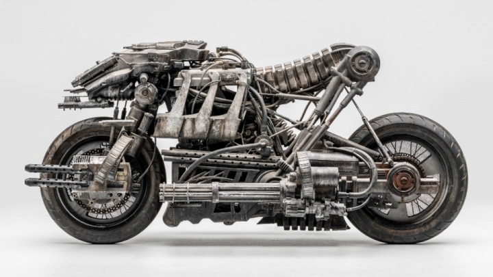 The motorcycle from Terminator: Salvation is real
