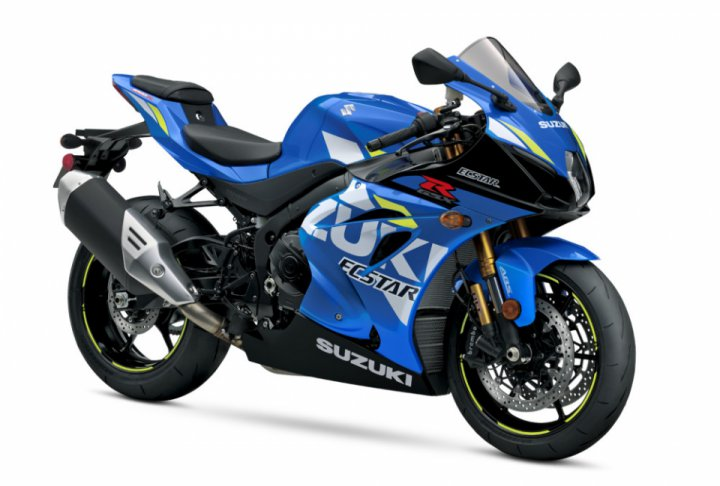 Suzuki Motorcycles in new 2019 colors