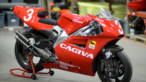 The Cagiva V593 That Won The 1993 USGP At Laguna Seca - For Sale