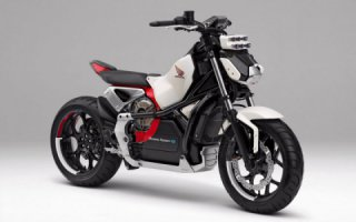 Honda introduces 'Riding Assist-e' self-balancing electric motorcycle