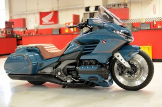 "Honda Unveils Custom ""Cool Wing"" at Daytona Bike Week"