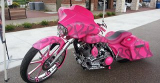 Biker Goes Pink: Honoring A Wife Taken Too Soon by Breast Cancer