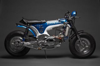 Custom Davmoto Honda Trail