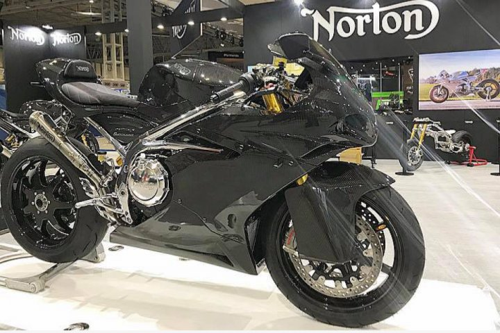 New Norton 650 Superlight Sportbike