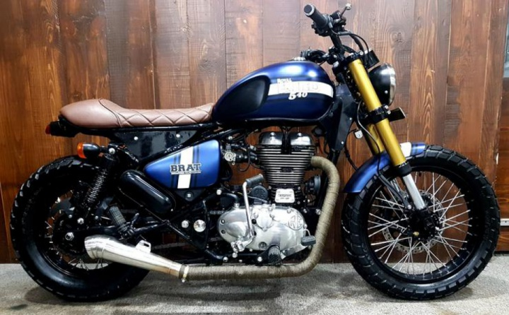 Royal Enfield-Classic 500 by Bulleteer customs