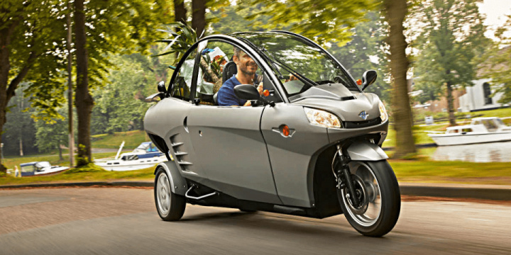 Electric trike  by Carver company