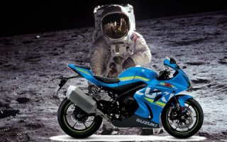 Suzuki is going to put a motorcycle on the moon